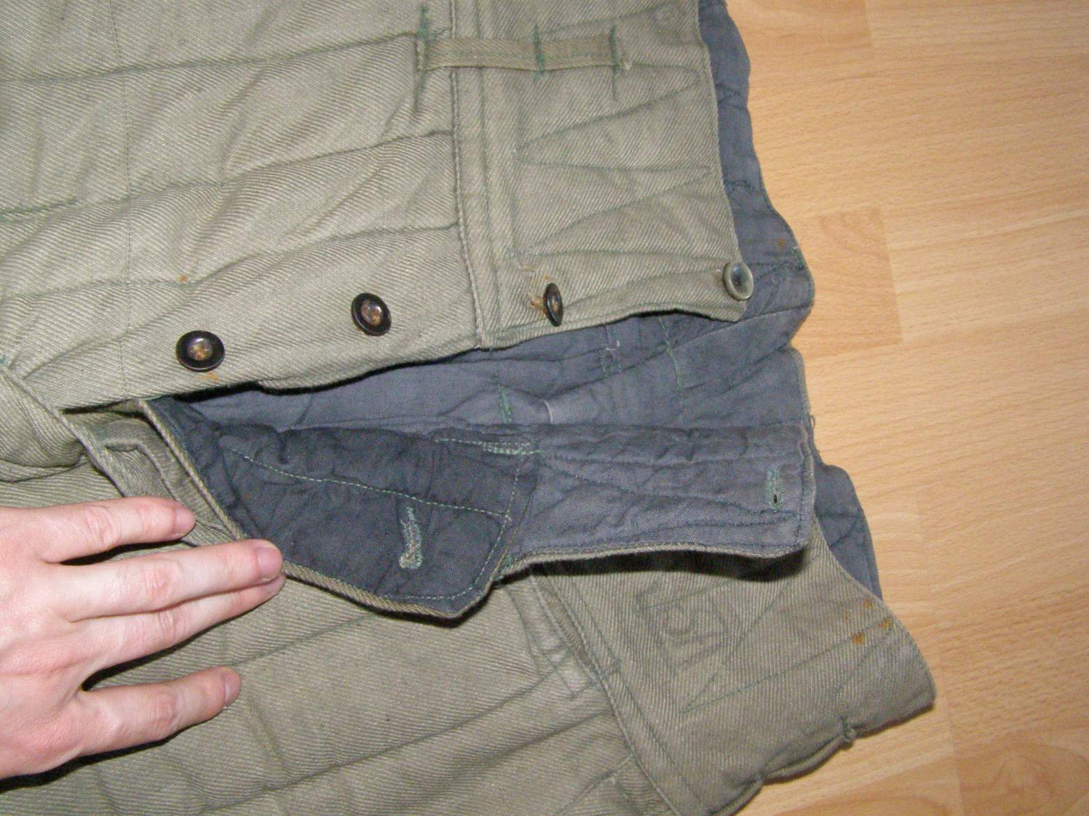d514b603586 Soviet winter, padded pants for telogreiyka jacket