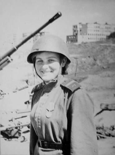 Gymnasterka Младший сержант Artillery (woman)