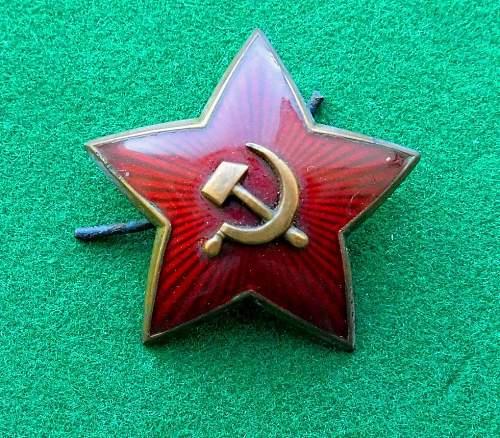 Red Army Star Cockarde
