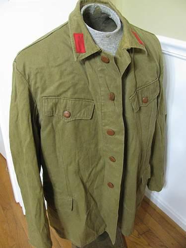 Russian Army Jacket, Need Help IDing