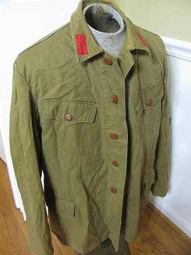 Russian Army Jacket, Need Help IDing