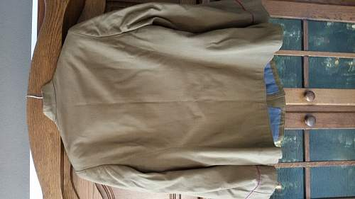 Wartime Infantry officer service tunic