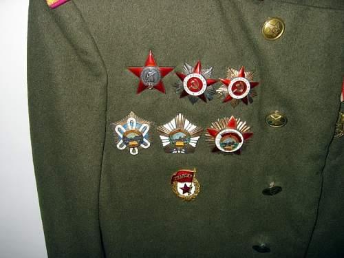 Mongolian Infantry Officer