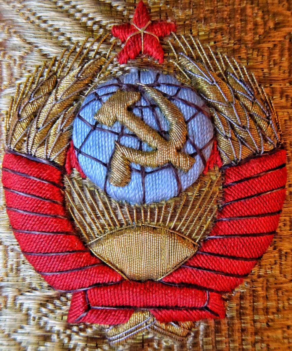 b117051c4 Soviet Marshal embroidery quality on Visor Hats, Shoulder Boards and ...