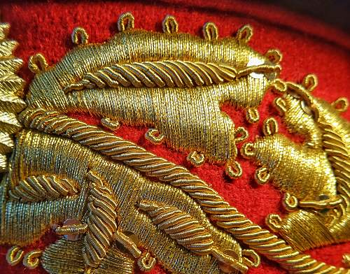 Soviet Marshal embroidery quality on Visor Hats, Shoulder Boards and Uniforms