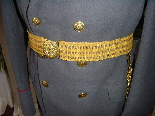 Click image for larger version.  Name:MEDICAL COLONEL M55 PARADE UNIFORM 5.jpg Views:358 Size:64.3 KB ID:13491
