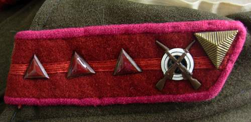 RKKA / NKVD collar insignia but what type?