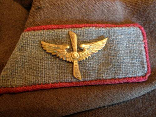 Early Soviet Air Force Commander Jacket