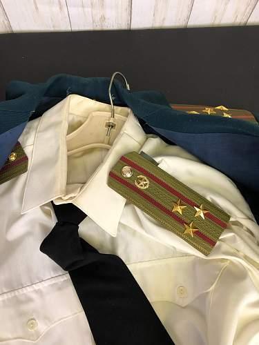 Cold War Era MVD uniform