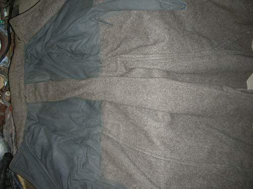 Soviet overcoats.