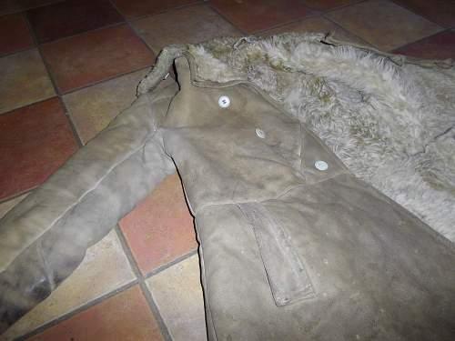 fur coat  ww2?