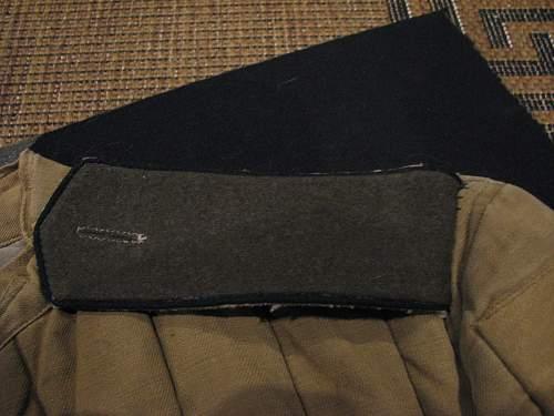 Telogreika with shoulder boards?