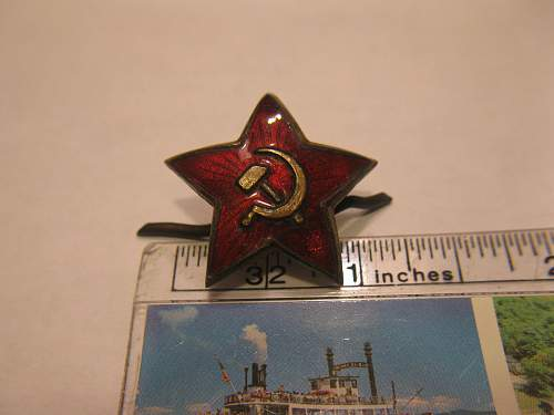 Another USSR cap star