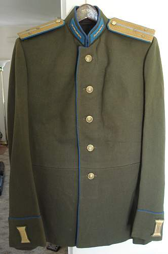 M43 Air Force or KGB parade Uniform???