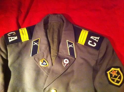 Russian Uniform (C.1990's) ID