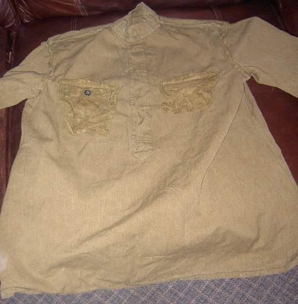 My only Soviet uniform