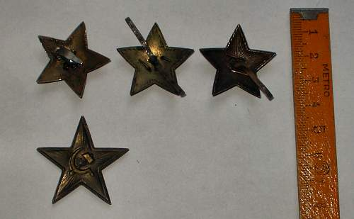 Summer findings - Red Army Stars