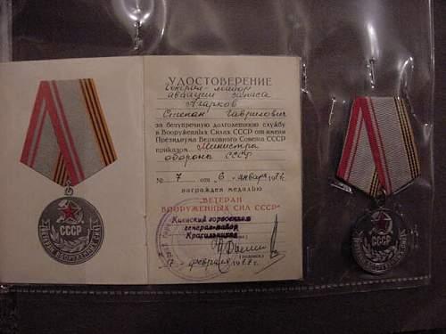 Air Force Major General Stephan Gavrilovich Agarkov