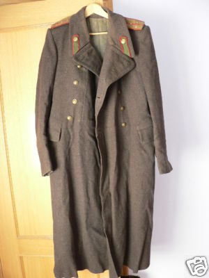 Officer greatcoat