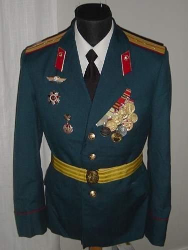 Click image for larger version.  Name:Soviet Medical Captain Parade uniform.JPG Views:8239 Size:145.6 KB ID:3335
