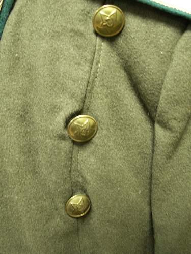NKVD dress tunic