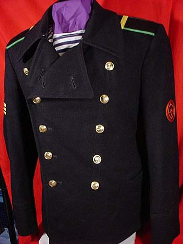 My Collection of Uncommon Cold War Soviet Service Dress uniforms