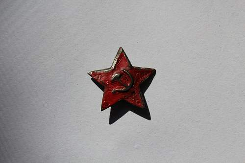 My collection of Soviet Stars + some still unidentified pieces..