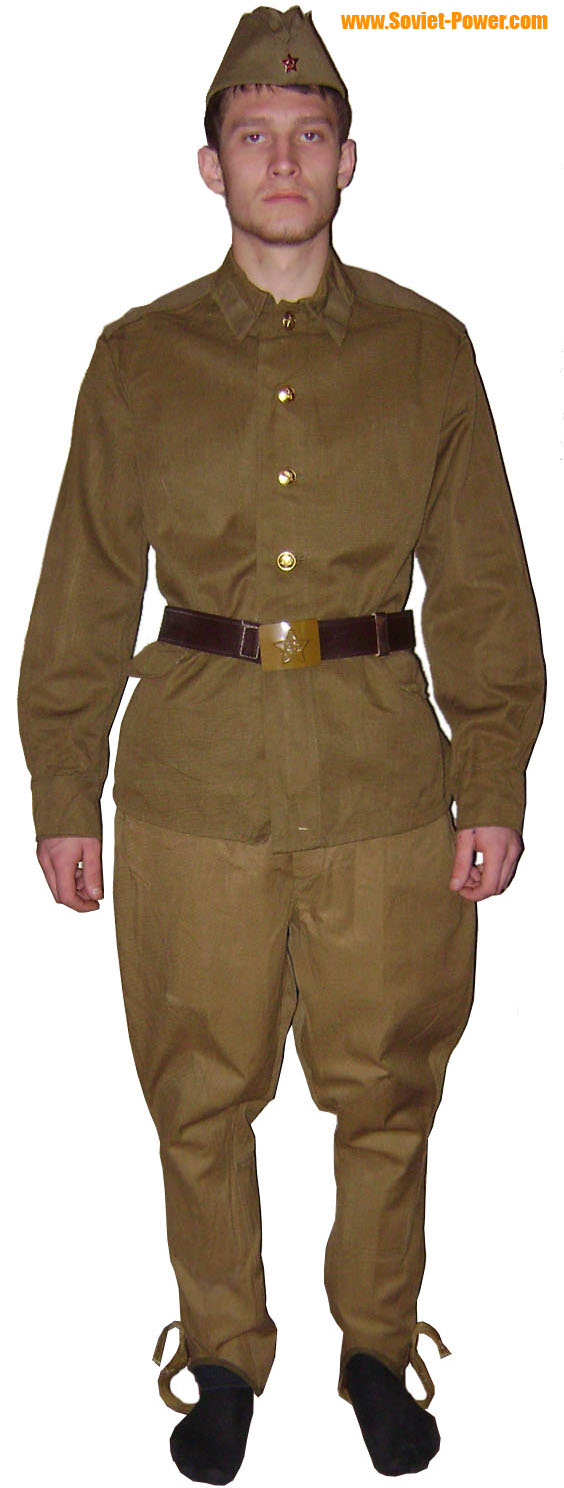 Wwii Russian Uniform 88