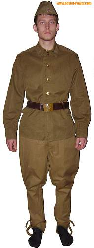 Is this a ww2 russian army uniform