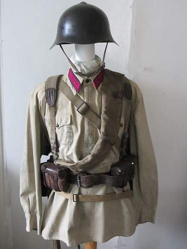 Rkka rifleman 1941 uniform and equipment ensemble.