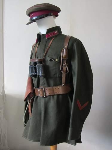 Red army infantry leutenant, 1941-  display