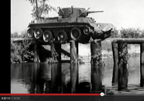 Pre war movies with tank uniforms
