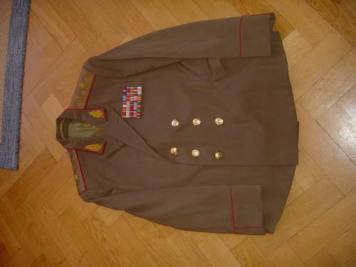 Dry cleaning & care of a uniform?