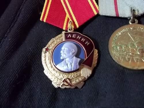 Soviet Artillery Colonel's Kitel Tunic