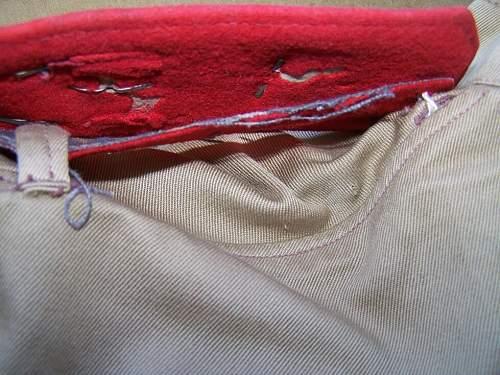 RKKA Gimnasterka, 1944 year, US cotton made