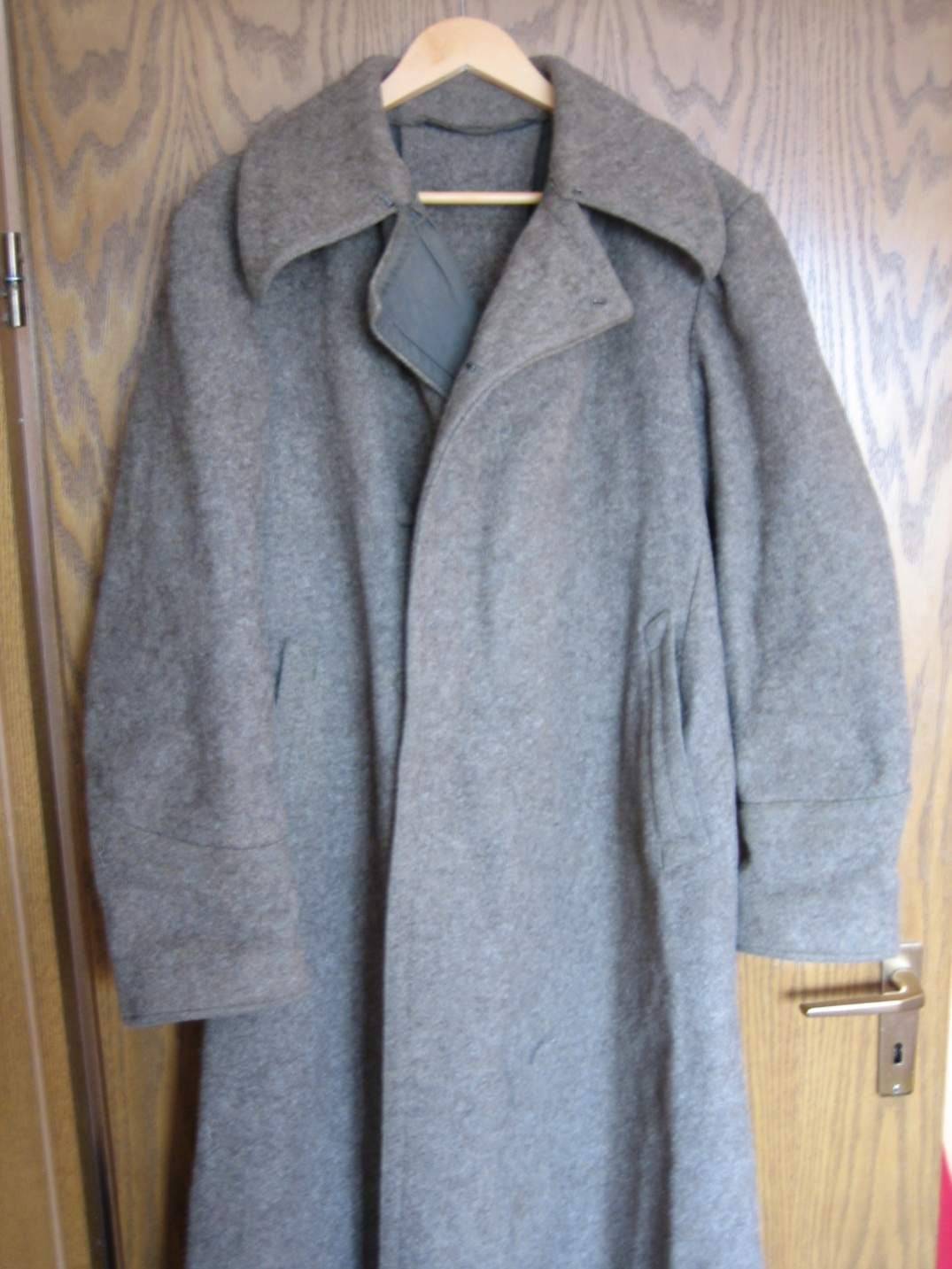 Red army overcoat