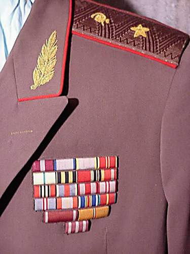 Soviet Medical Service Shoulderboards and Insignia