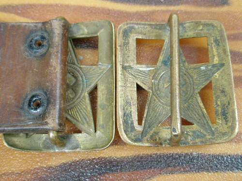 Soviet M35 Belt Buckles ??? Are these Pre-War-WWII
