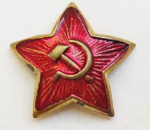 Cap Star Cockardes