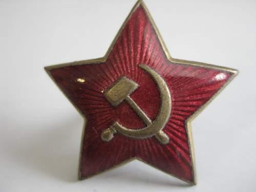 Red star cockade