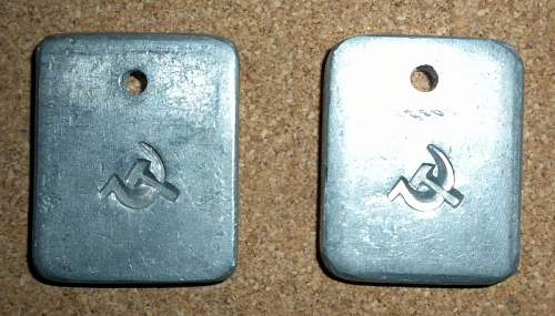 Is this a Soviet Dog Tag?