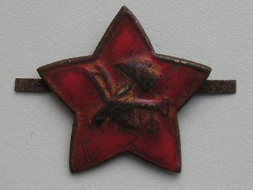 Hammer and Plow star - original?
