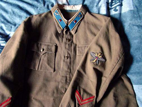 Air force tunic