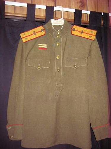 Help with info on russian tank tunic