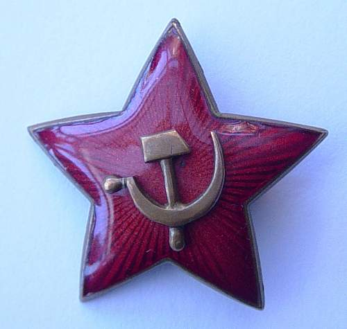 1936 pattern cap star.