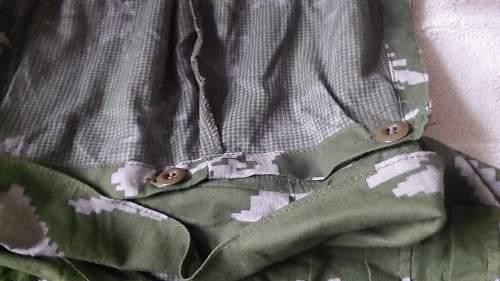 Uniform purchase. KLMK 2 piece camo