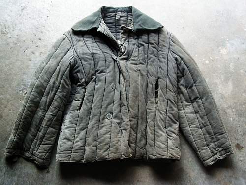 Identifying a telogreika jacket