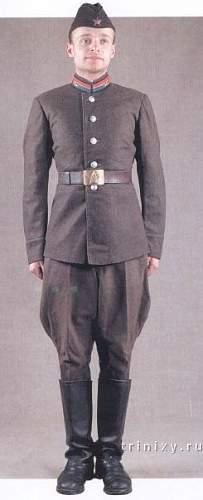 1940's Soviet cadet uniform