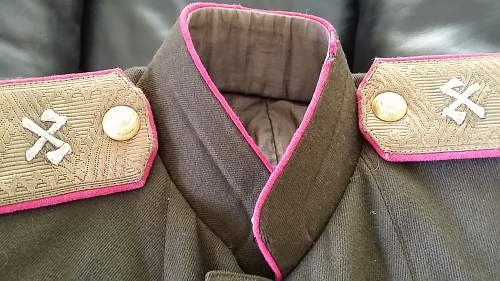 Authentic WWII Russian Engineer Marshal Jacket!?