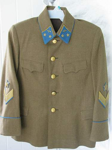 Vintage early WWII Russian M35 Air Force General tunic